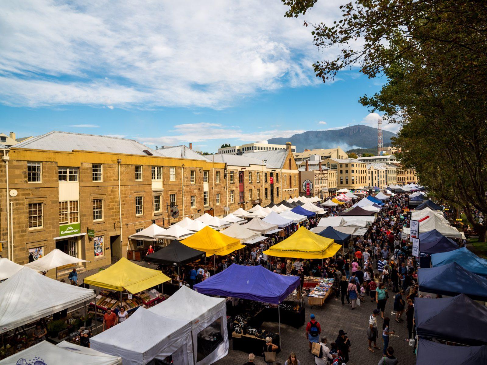 Explore over 300 stalls every Saturday