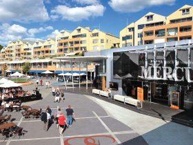 Salamanca Square Hobart