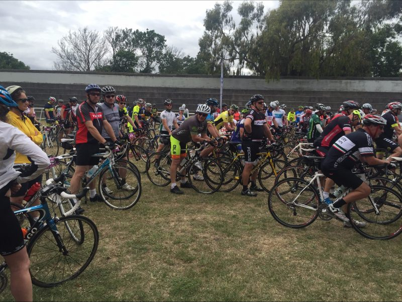 Cyclists ready