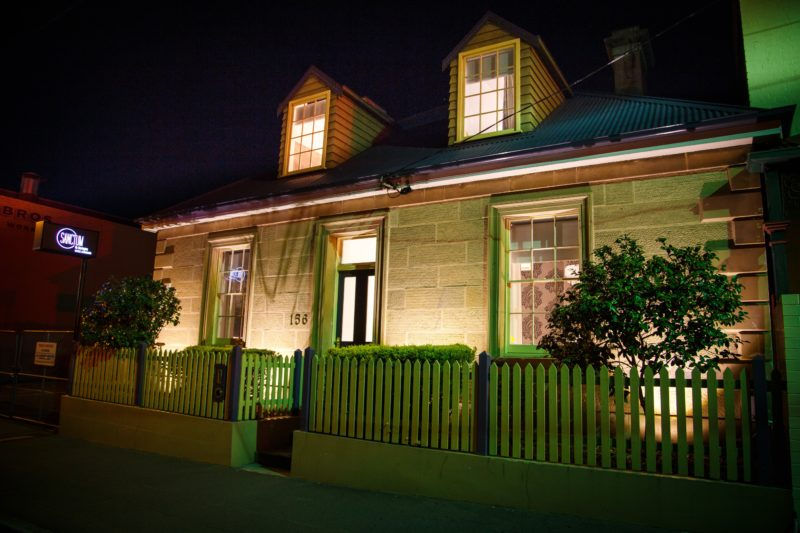Sussex House by night