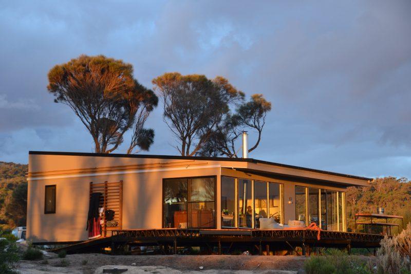 sawyers bay shacks, flinders island