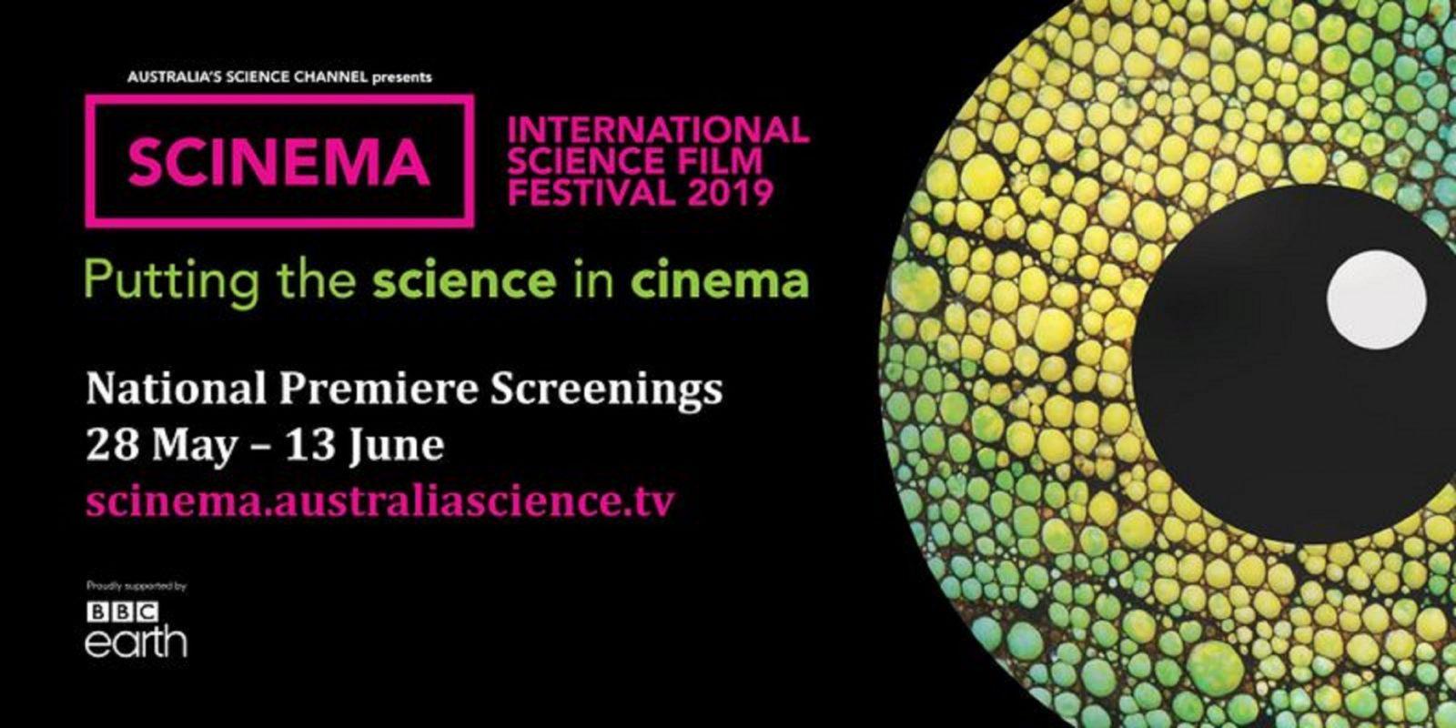 SCINEMA International Film Festival. National premiere screenings 28 May - 13 June