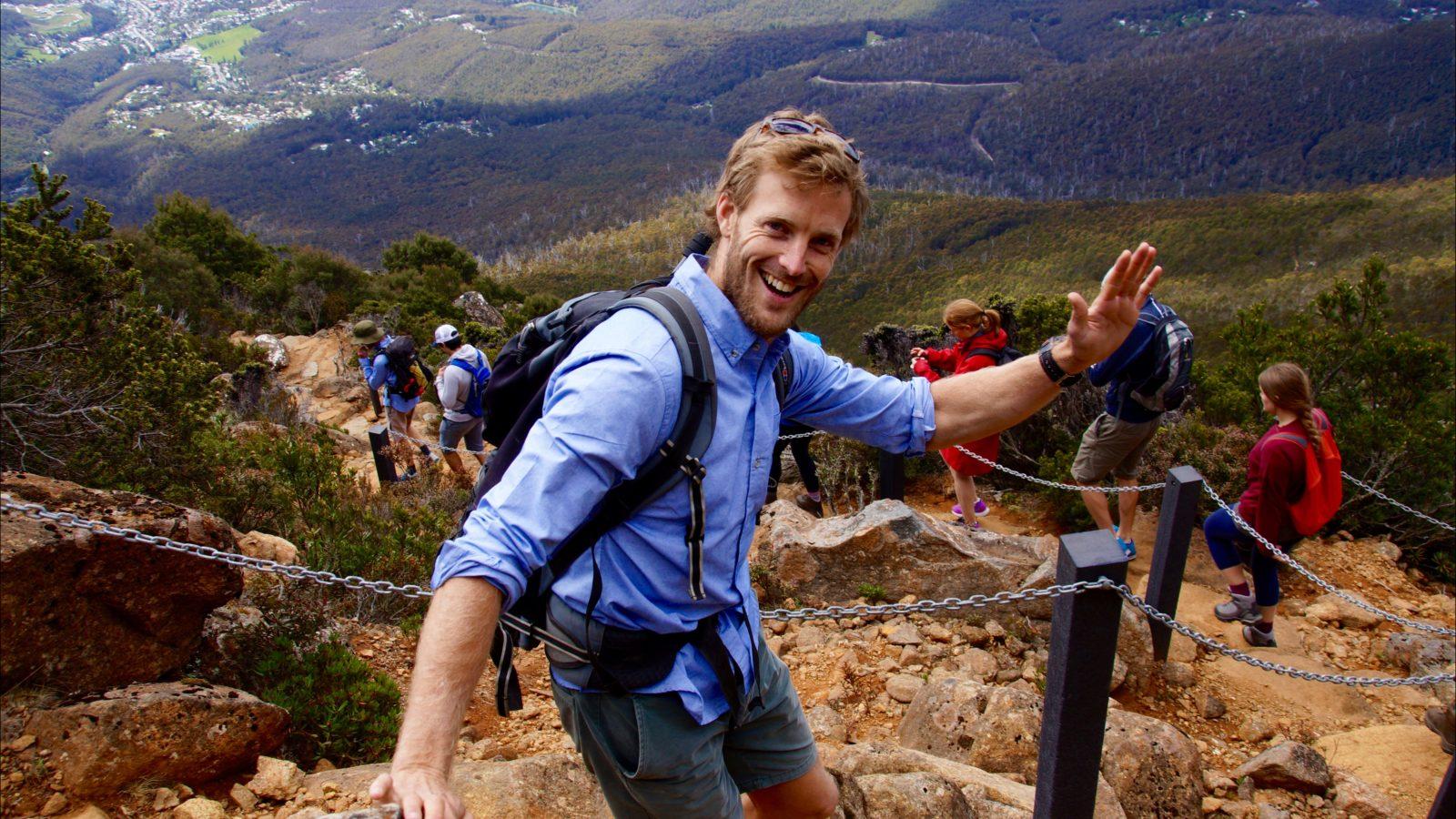 See Tasmania Tours, Pinnacle to Pint, Hobart Hiking Tour, Mt. Wellington tour, kunanyi tours, hobart