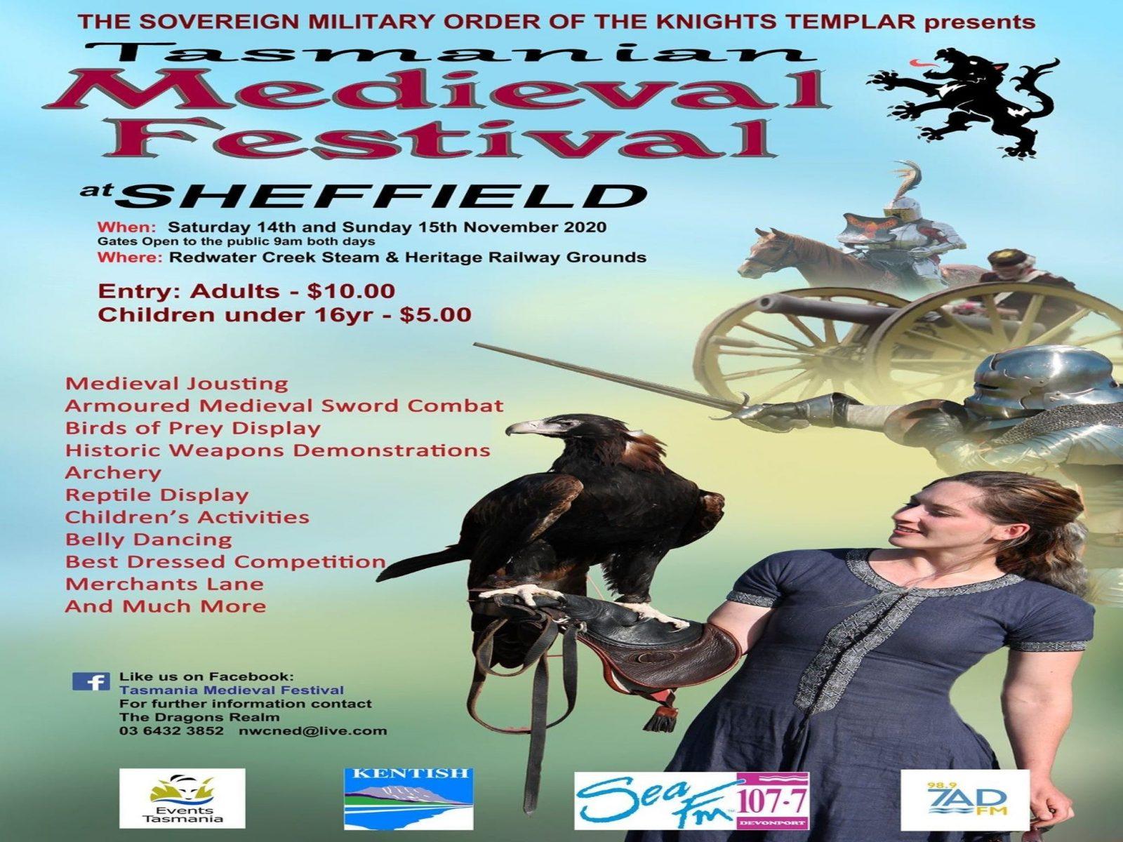 Sheffield Tasmania Medieval Festival 2020