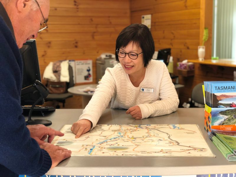 Travel planning and assistance, hotel bookings at Kentish Visitor Centre