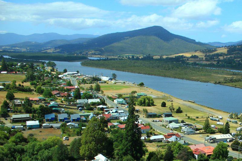 Huon River and Franklin