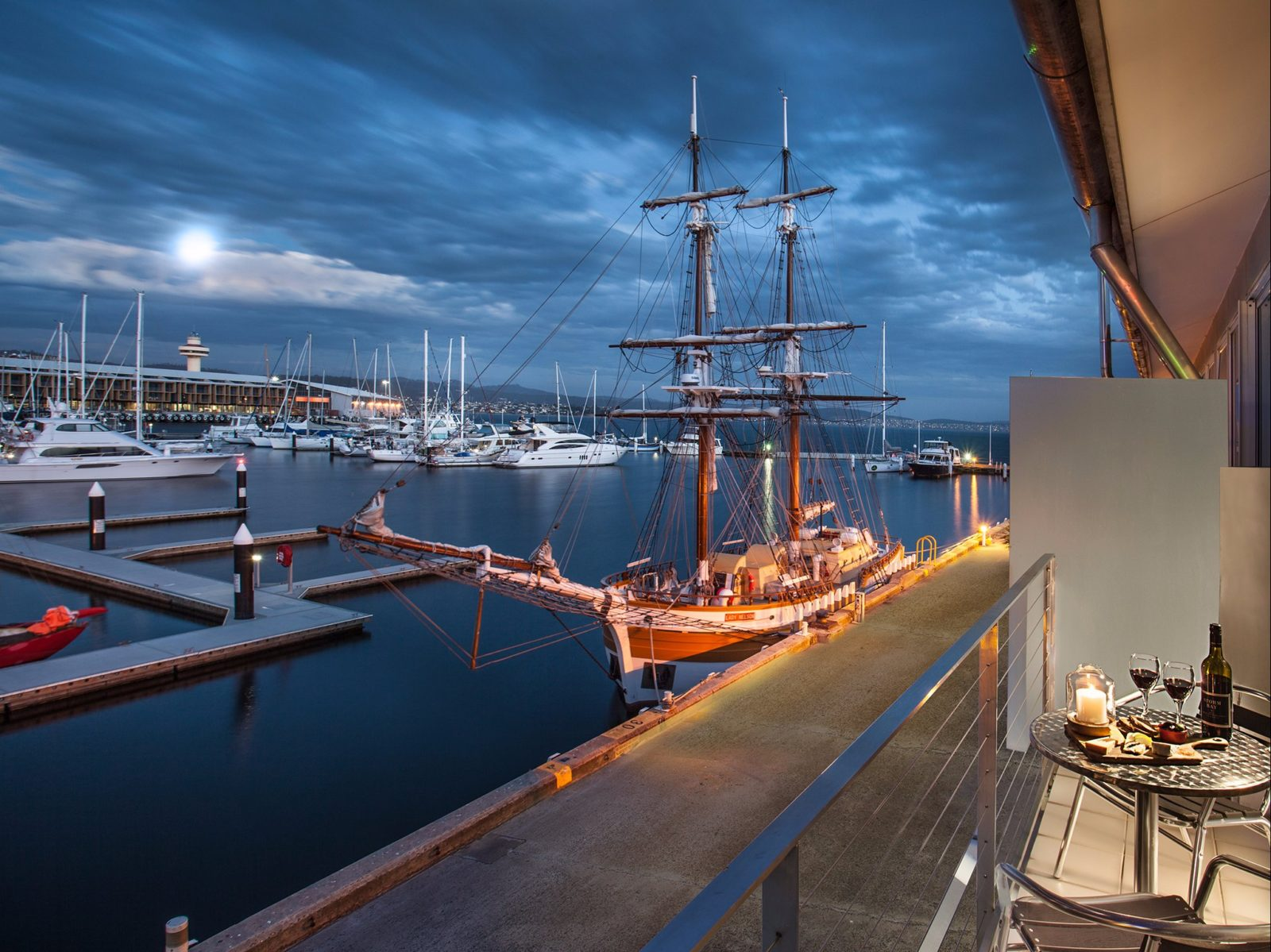 Somerset on the Pier, Hobart's only loft-style waterfront accommodation