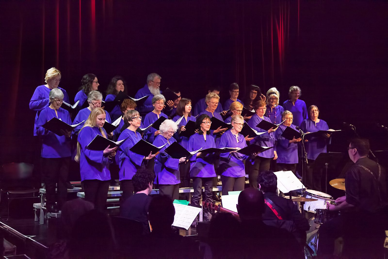 Choir singing at Moonah Arts Centre