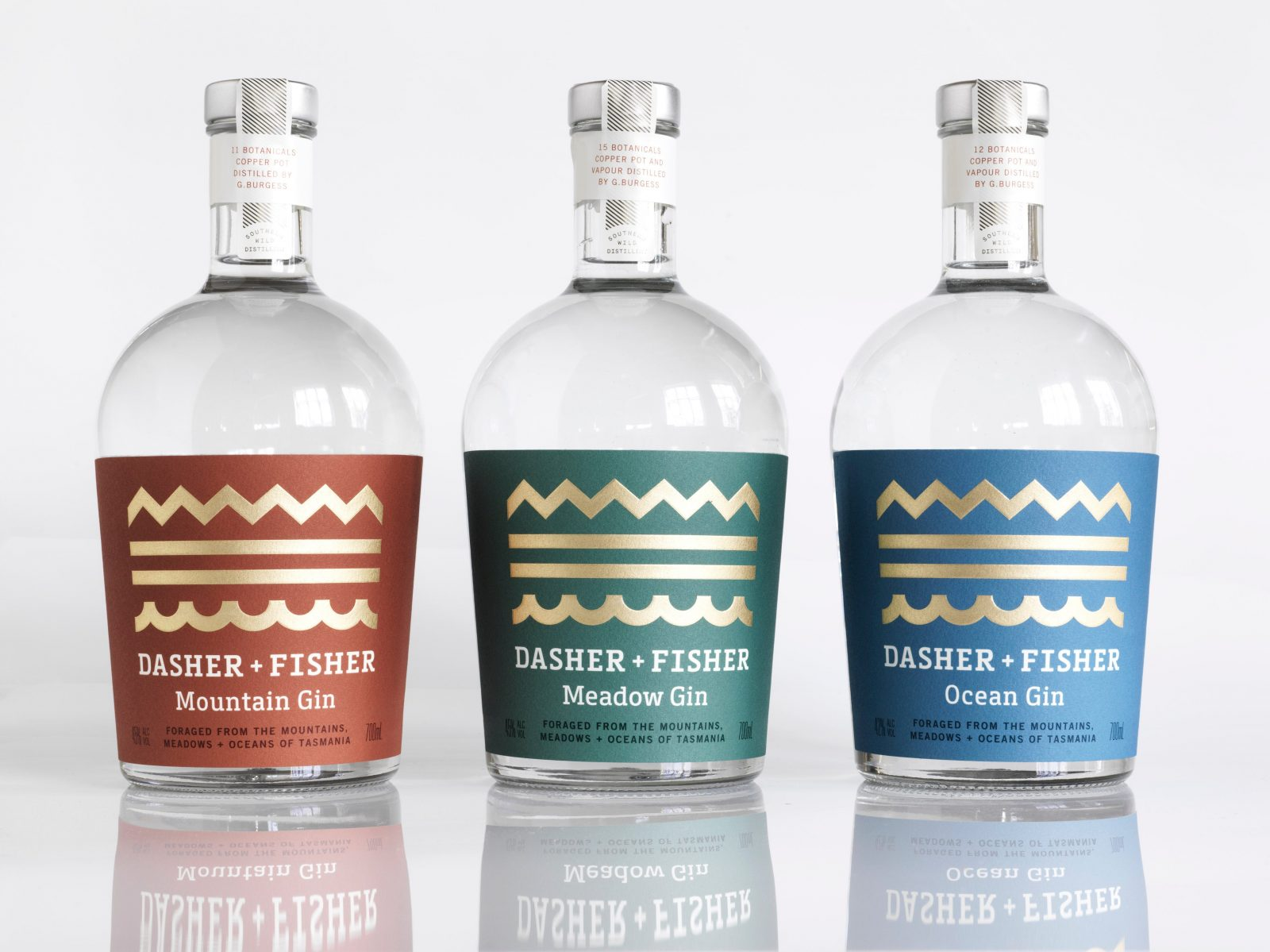 DASHER + FISHER Mountain, Meadow and Ocean bottle image.