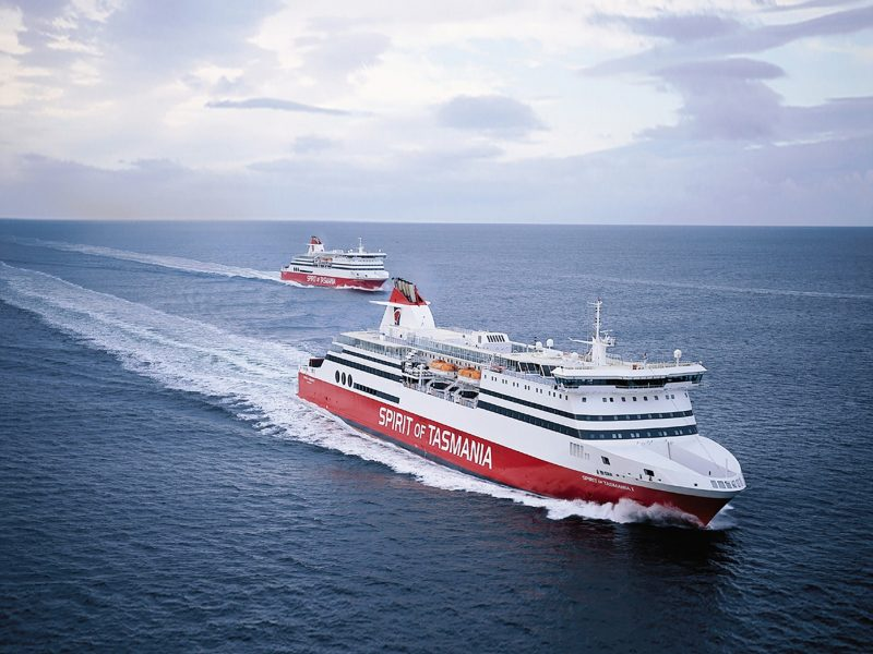 Spirit of Tasmania twin ships