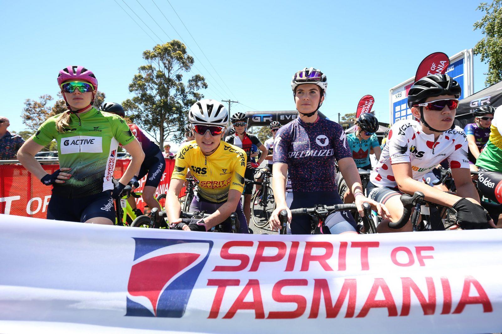 Spirit of Tasmania Cycling Tour 2018 Women's Race Ulverstone to Riana