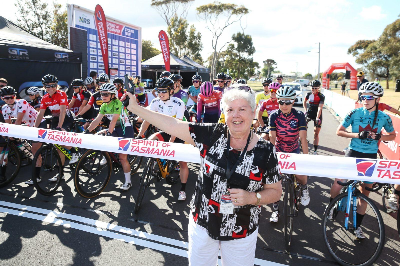 Spirit of Tasmania Cycling Tour 2018 Women's Race Devonport
