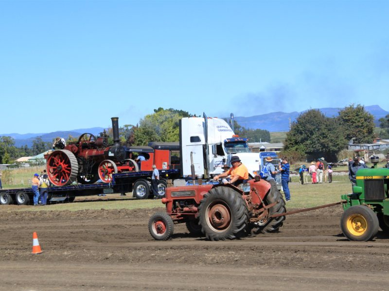 Tractor Pulling is very popular