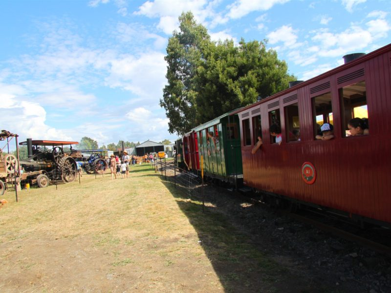 check out what's on as Steam train runs through SteamFest