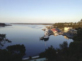 Strahan Village and waterfront