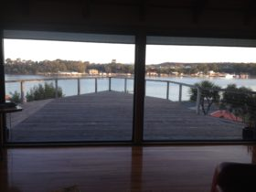 Arguably one of the best places to stay in Strahan, walk through the door and watch the world pass y