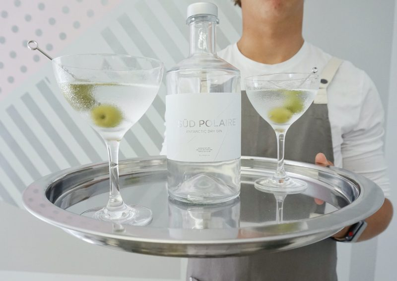 Our famous Süd Polaire Antarctic dry martini