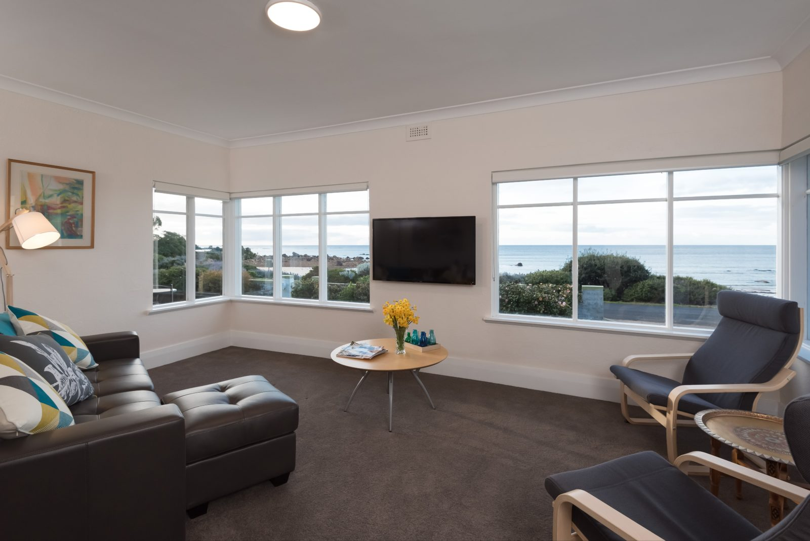 Large Lounge with TV and Views