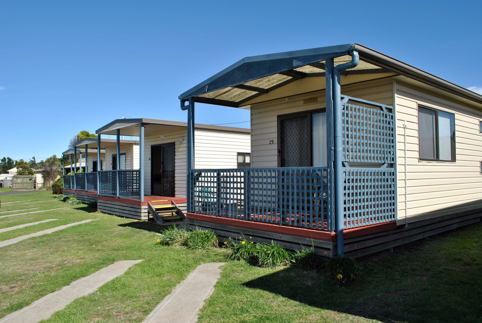 Powered Sites and self contained Cabins