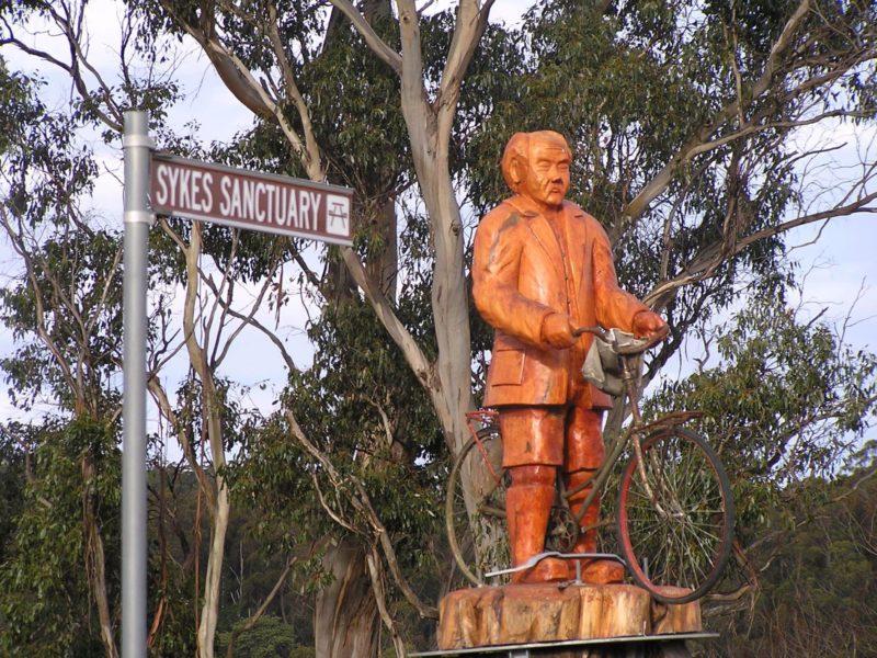 Sykes Sanctuary statue