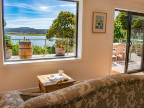 Tamar House: views over the Tamar River