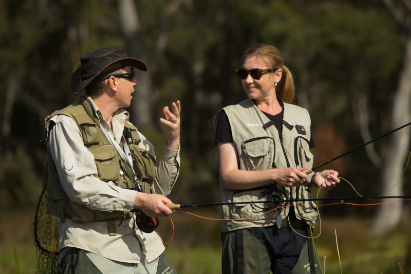 Tarraleah Estates Guided Fly Fishing Tours are with Tasmanian Fly Fishing expert Robbie Aitkenhead