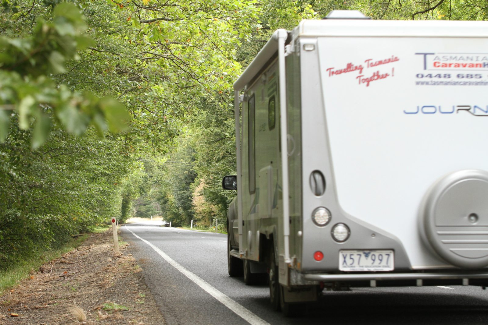 2017 Journey on the open road