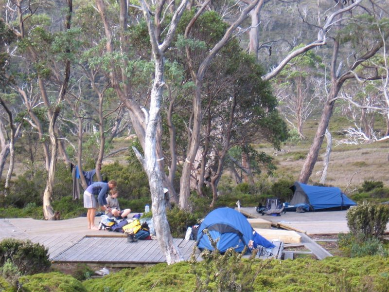 Overland Track - Breaking Camp