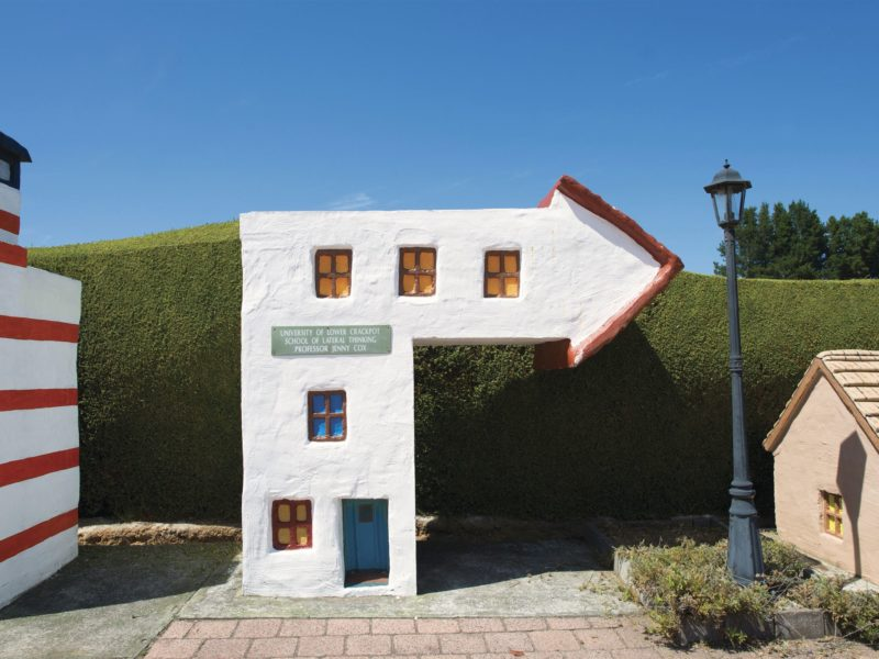 Tasmazia and The Village of Lower Crackpot
