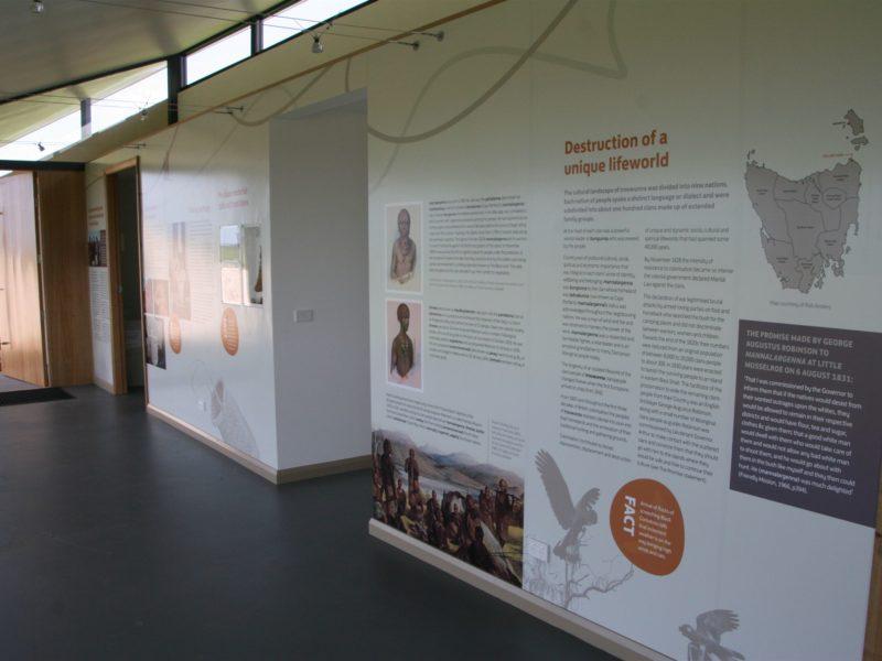 Tebrakunna Visitor Centre_Interpretation Disply
