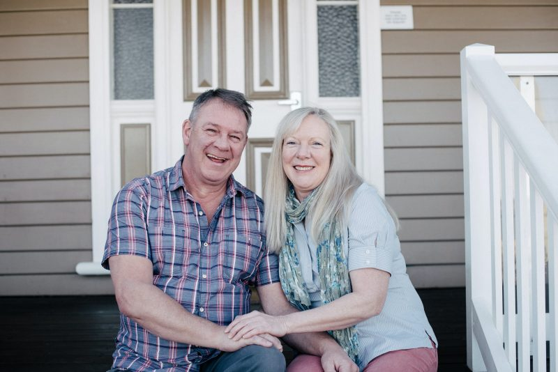 Christer and Rhonda, Hosts at The Ark Stanley Bed and Breakfastk