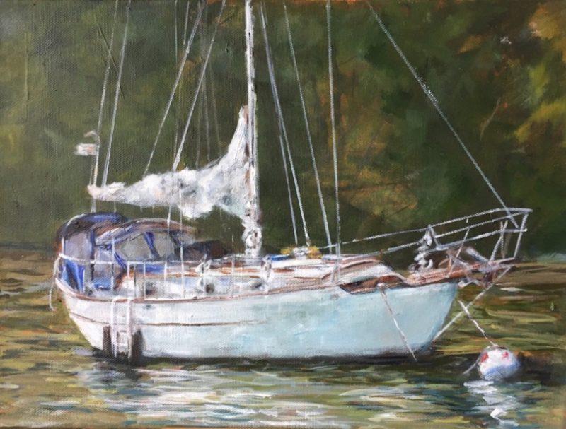 painting by J Pullman ASMA
