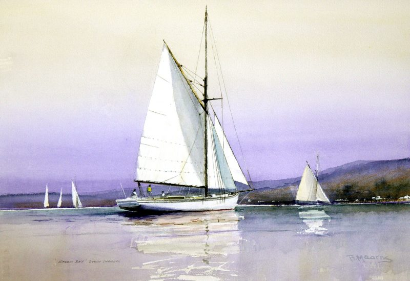 painting by Bill Mearns FASMA