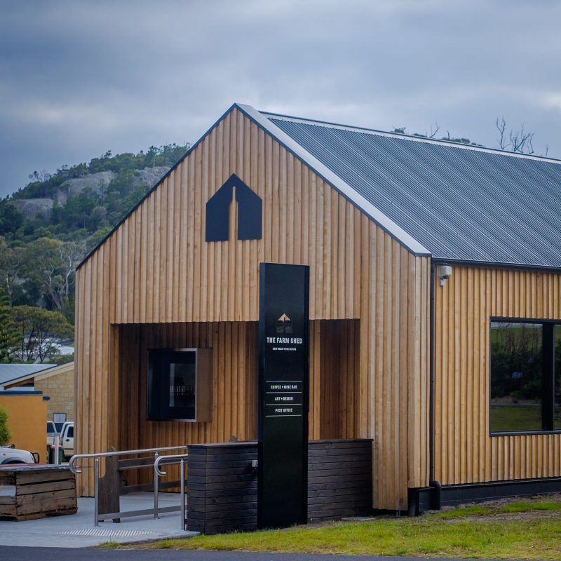 The Farm Shed East Coast Wine Centre, Bicheno, Tasmania