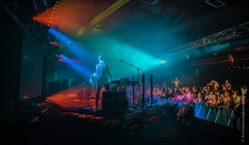 Kite String Tangle performing on stage at The Goods 2018