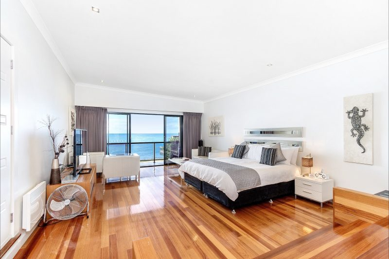 This stylish suite with breathtaking views over Bass Strait sets The Madsen apart as a truly unique