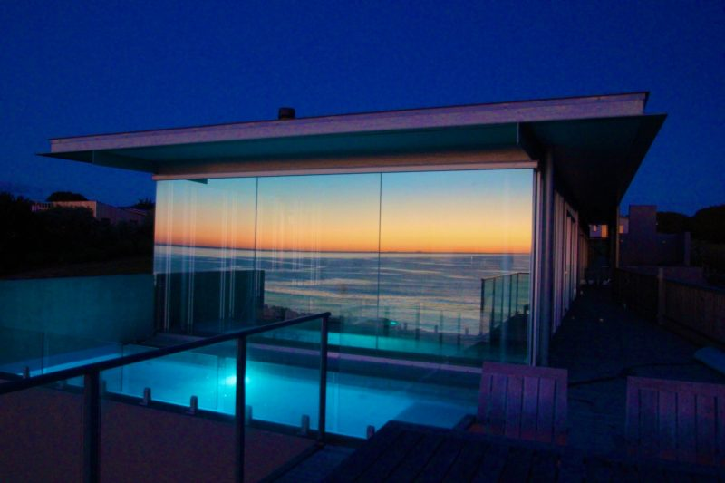 The sunrise produces some magnificent views over the Tasman Sea