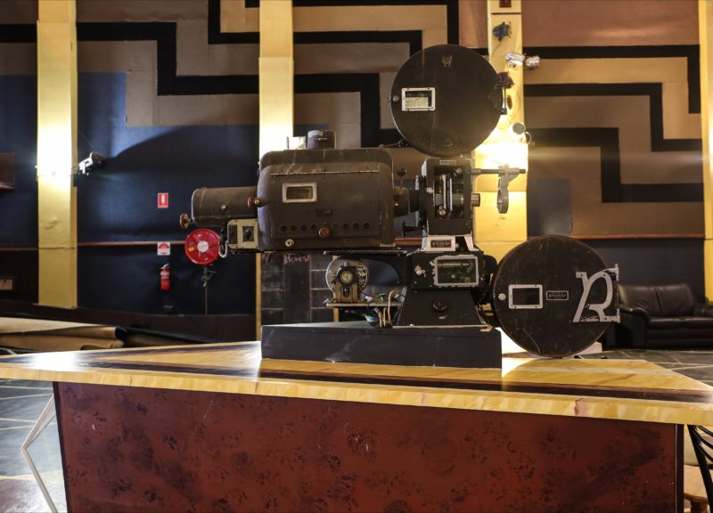 Art Deco movie projector