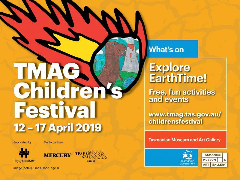 TMAG Children's Festival banner