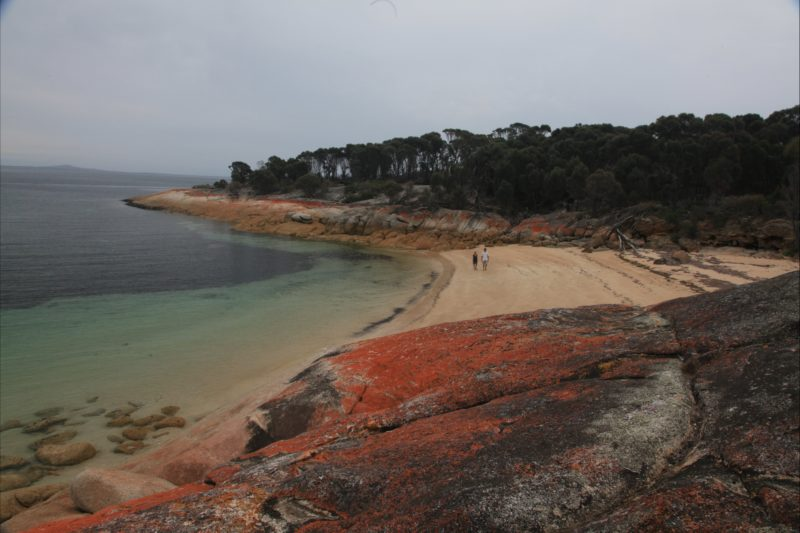 Trousers Point camp ground beach Flinders Island Tasmania