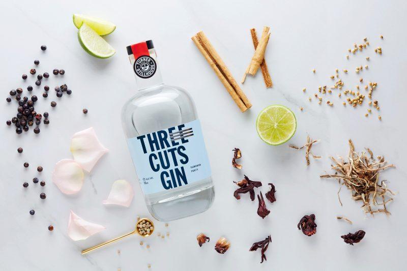 Three Cuts Gin with Botanicals