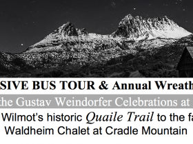 Gustav Weindorfer Celebrations @ Wilmot - and Exclusive Bus Tour