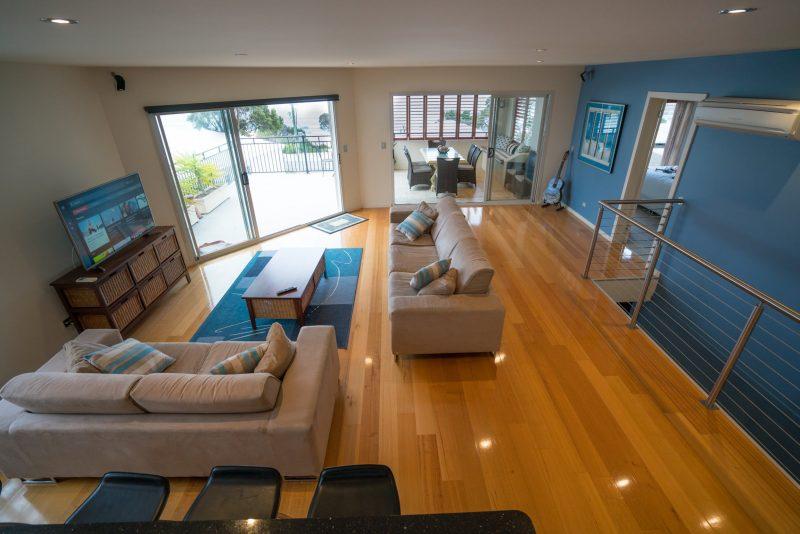 Villa Jasper Bay of FIres - Living area