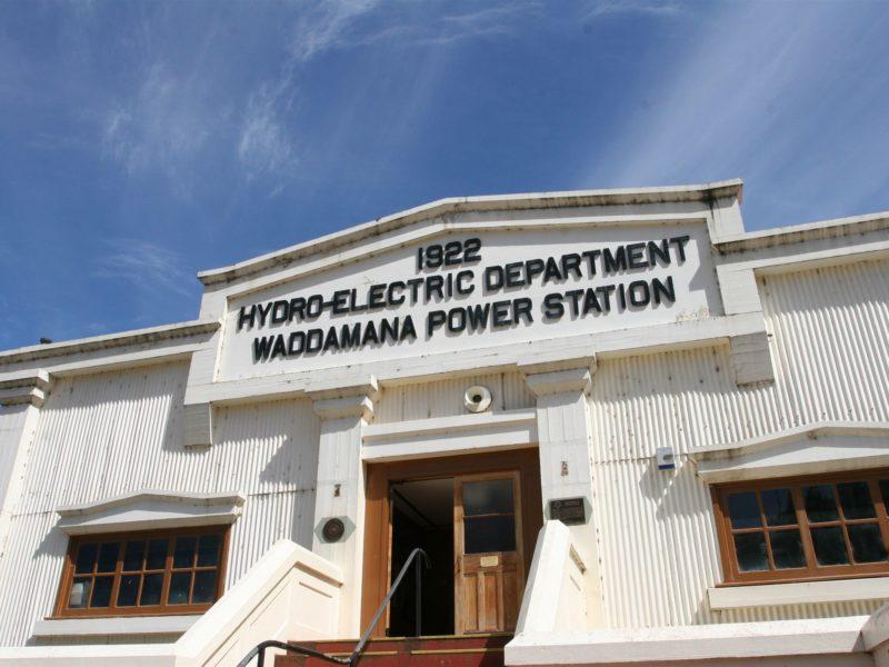 Waddamana Power Station Museum