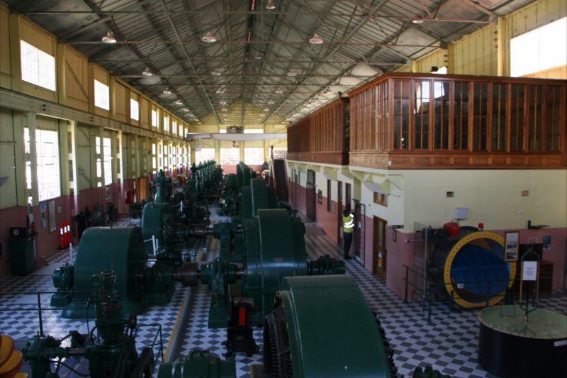Inside Waddamana Power Station