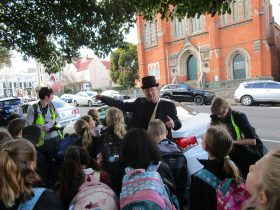 History walk tour Launceston guided