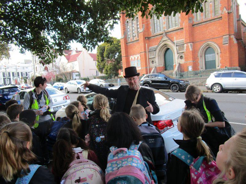 History walk tour Launceston guided