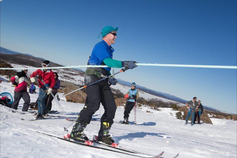 University Ski Tow Mt Field