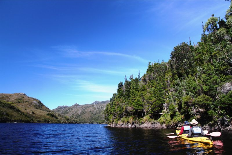As part of Wild Pedder's guided wilderness tours through Tasmania's Southwest National Park