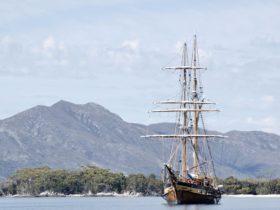 The ship at Anchor